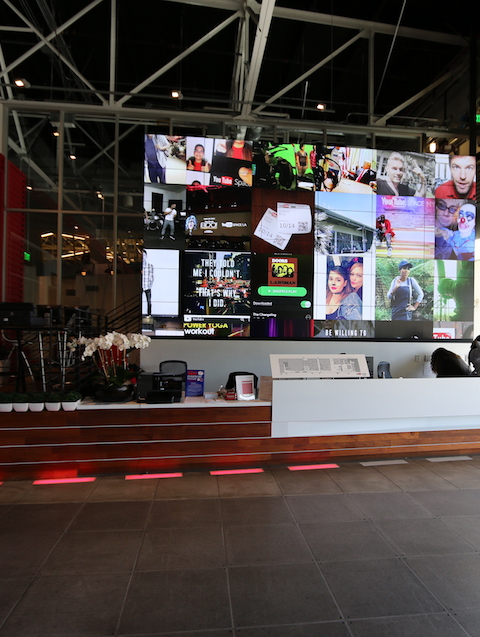YouTube Video Wall, A CENSEO Tour