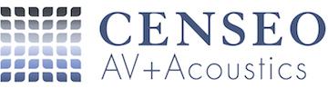 CENSEO AV+Acoustics Logo